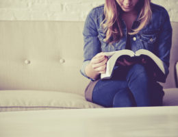 reading bible about personal god